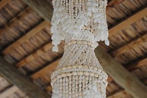 La Case du Pecheur - Shell Lampshades Deco