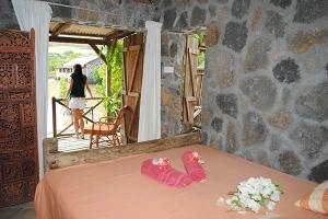La Case du Pecheur Mauritius - Double standard room with terrace opening on the Barachois