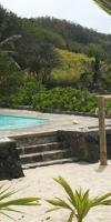 Pool View at La Case du Pecheur